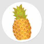 Tropical Pineapple Sticker Envelope Seal Welcome